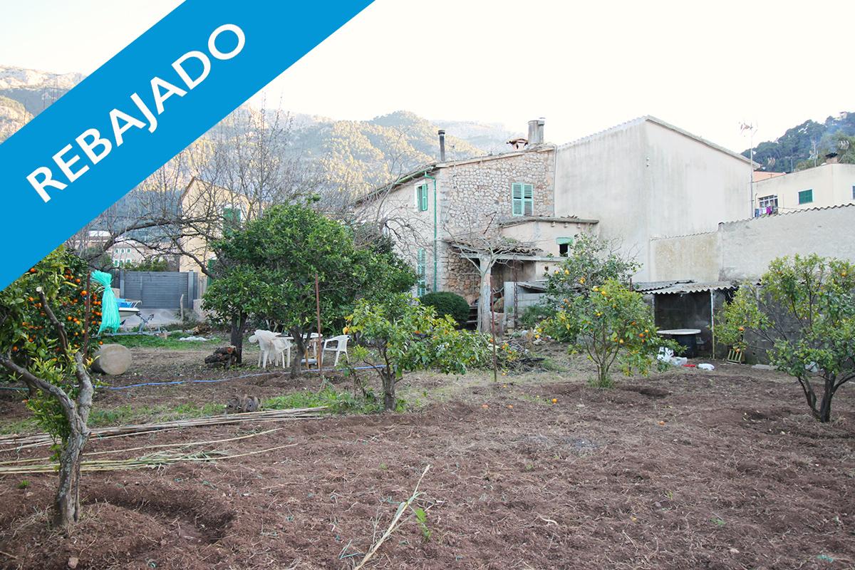 » REBAJADO» Casa para reformar en pleno centro de Soller