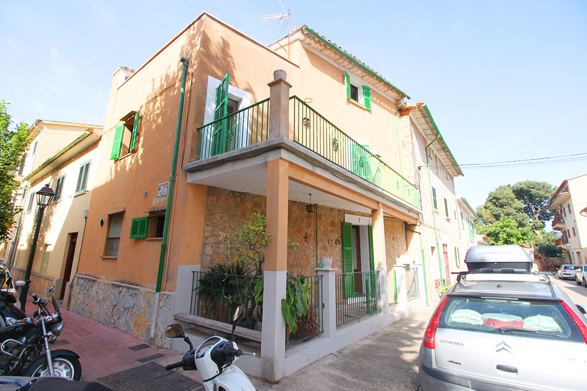 Casa en pleno centro de Soller con terrazas