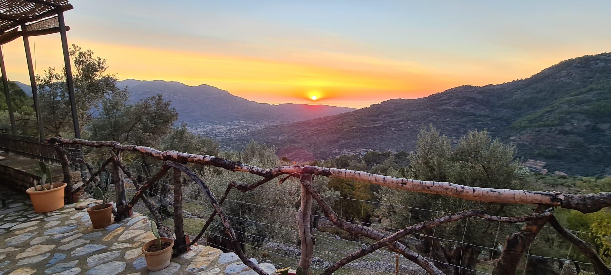 Finca rustica con inmejorables vistas Del Valle de Soller